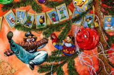 Приключения новогодних игрушек